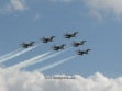 The USAF Thunderbirds. Standard for the Daytona 500 Flyover. (Photo by Speedglutton.com)