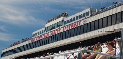 New Hampshire Motor Speedway: Home of the Granite Stripe. (Photo by Speedglutton)