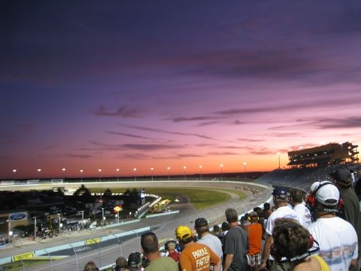Sunset at Homestead. (Photo courtesy of Katy Warner on Flickr.com)